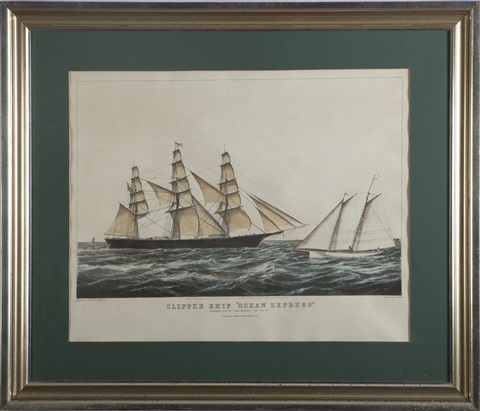 discharging the pilot sketched by j smith son by nathaniel currier
