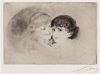 the sisters by anders zorn