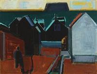 houses by the sea, the faoe islands by jack kampmann