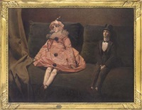 the ventriloquist's couch by joseph-paul alizard