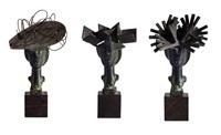 las damas de barajas (tres esculturas en) by manolo valdés