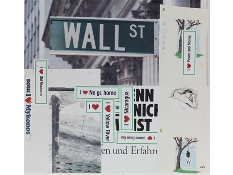 wall street by martin kippenberger