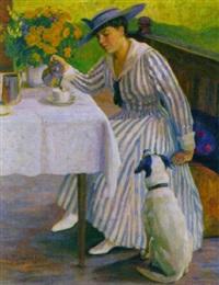 frühstück am balkon by isabella mikulicz-breyer