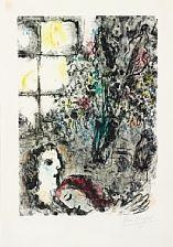 le soir d'été by marc chagall