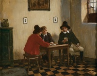 a game of cards by hugo krings