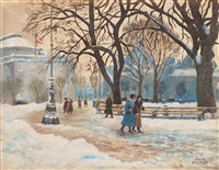 motif from copenhagen by paul gustave fischer