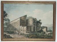 veduta di cimitero by antonio basoli