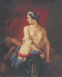 judith mit holofernes by paul emil jacobs