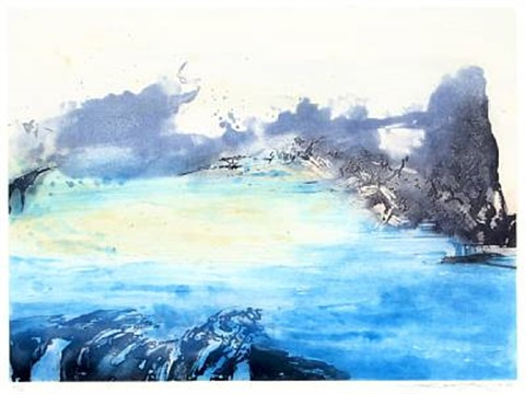 composition by zao wou ki