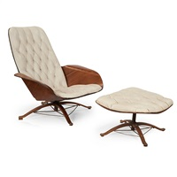 Superieur Mr. Chair And Ottoman, 1960