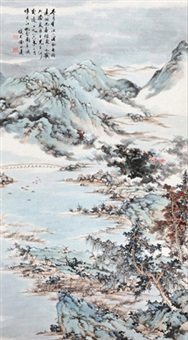 吴江初雪图 by xu bangda