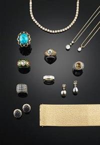ear pendants (pair) by halberstadt (co.)