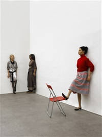 f.f.a.l.#1, #2, #3 (fake female artist life) by mathilde ter heijne