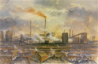 british steel, port talbot by valerie ganz