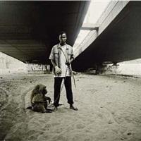 animal handler with ajusco, lagos, nigeria by pieter hugo