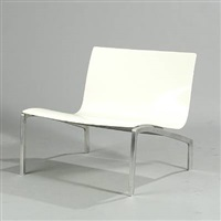 lounge chair (model pl200) by piero lissoni