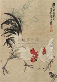 全家福 (cock) by tu canlin