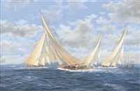 j-class regatta by john j. holmes