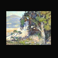 california landscape by harold horton newsom