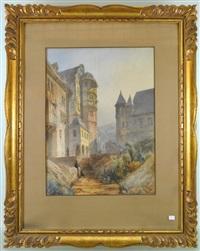 vue de château by françois antoine bossuet