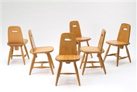 sechs stühle pirtti (set of 6) by eero aarnio