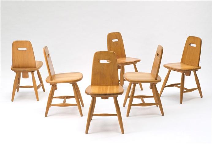 sechs stühle pirtti set of 6 by eero aarnio