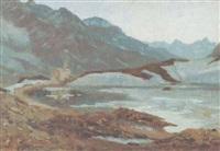 berninasee by wilhelm ludwig lehmann