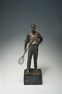 tennisspieler by richard wilhelm daniel fabricius