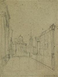 londra by antonio fontanesi