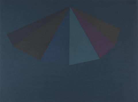 a pyramid from for joseph beuys by sol lewitt