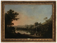view of pantano borghese by richard wilson