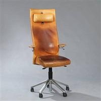 high-back office chair by burkhard vogtherr
