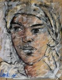 portrait of a woman by freida lock