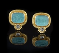 earrings (pair) by elizabeth locke