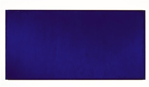 untitled (cobalt) by moira dryer