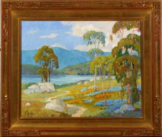 path to the lake by richard rackus