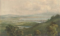 old town, hastings (+ weymouth from wykefields; pair) by alfred pizzey newton