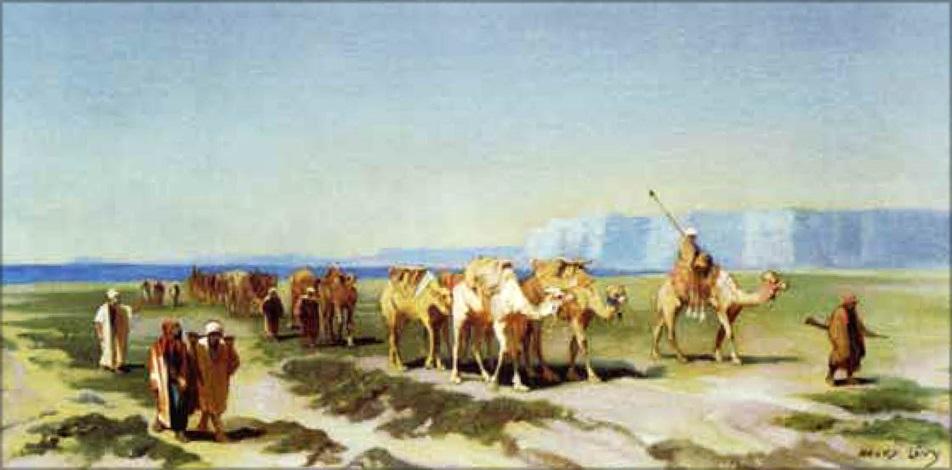 la caravane by henri léopold lévy