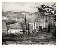 stadt- und zeitbeschreibung (portolios 1 & 2 with 8 works each, total 16 works) by peter ackermann