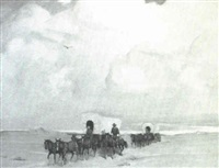 covered wagons by winfield scott