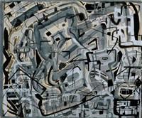 komposition i grått och svart by oliver herdies