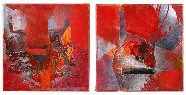 stromboli diptych by ralph gelbert