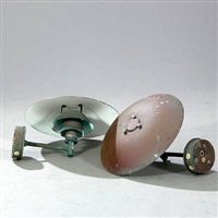 ph-4,5/3 outdoor wall lamps (pair) by poul henningsen