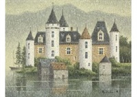 castle on the lake by ryusuke nishimura