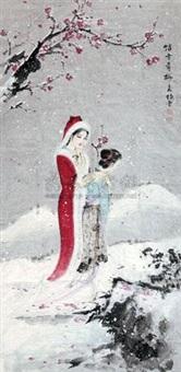 踏雪寻梅 by liu jingyun