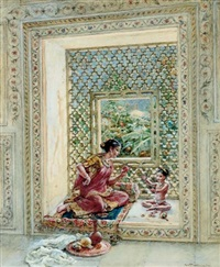 in the old palace, delhi by walter duncan