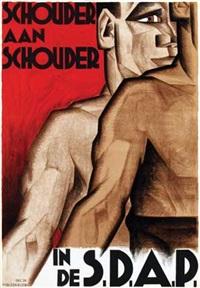 schouder aan schouder in de s.d.a.p by meijer bleekrode