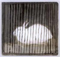 le lapin à la cage by janice biala