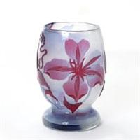 small vase by émile gallé