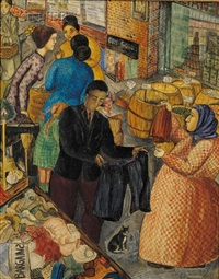 new york open-air market by hope shipee bunin
